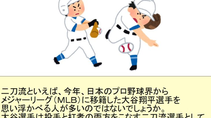 The 'Nitou ryu' challenge – Learn Japanese !