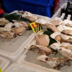 กินดิบตลาดปลาซึกิจิ Tsukiji Fish Market Japanese Street Food ปลาดิบ หอยนางรมดิบ ทะเลประเทศญี่ปุ่น