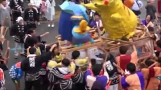 新潟市北区葛塚祭り2018 小若連中 その2  Niigata City Kita Ward kuzuzuka Festival 2018 Japanese culture