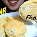 ASMR TAIYAKI(Japanese Food)| たいやき | EATING SOUNDS | NO TALKING【咀嚼音/Mukbang】