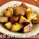 Candied Sweet Potatoes (Traditional Healthy Japanese Vegan Snacks Recipe) | OCHIKERON