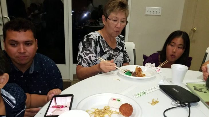 Family Home Video. Eating Japanese food for dinner. Oct 10, 2018.