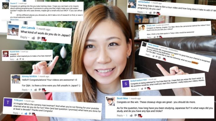 First Q&A: My Job In Japan, Filming/Editing, Learning Japanese Tips | internationally ME