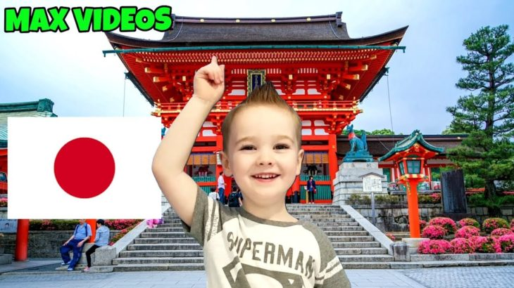 JAPAN, Learn Japanese for Kids! Counting, Numbers, Greetings – MAX VIDEOS