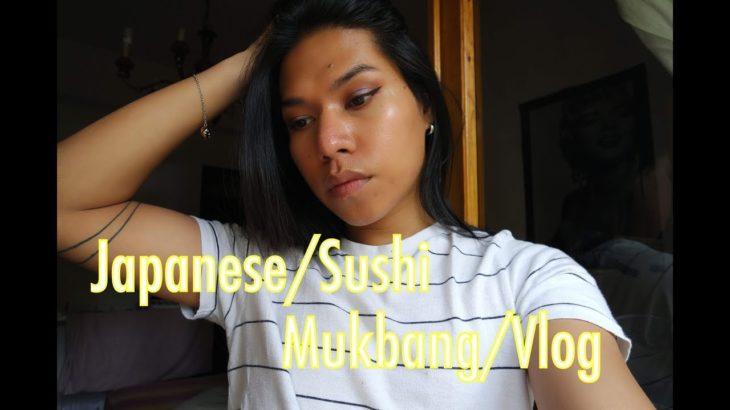 Japanese Food/Sushi Mukbang / Vlog (Restaurant Version)