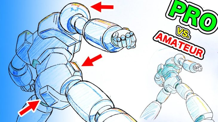 Japanese Pro vs. Amateur: ANIME SHADING (2 of 3)