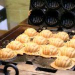 Japanese Street Food / 7 ドル Hodu Ttangkong gwaja クレープ