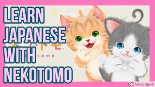 Let's Learn Japanese with Nekotomo! (Switch, demo)
