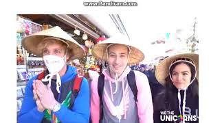 Logan Paul being disrespectful to Japanese culture
