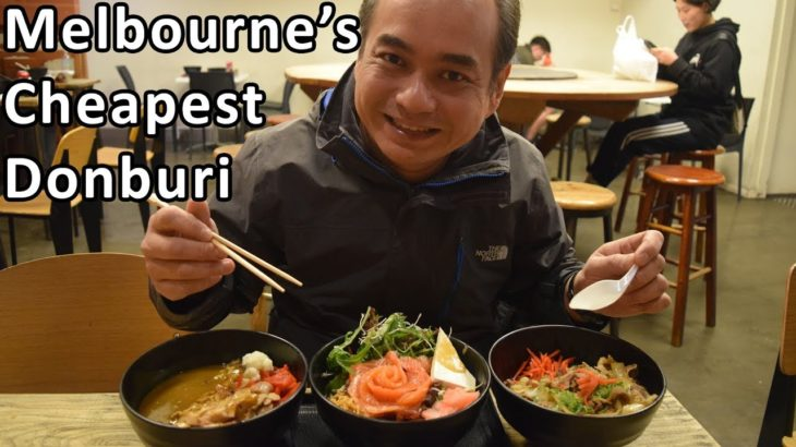 Melbourne's Cheapest Japanese Donburi – Australian Food Tour