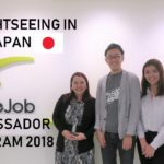 RareJob Ambassador Program 2018: Sightseeing in Japan