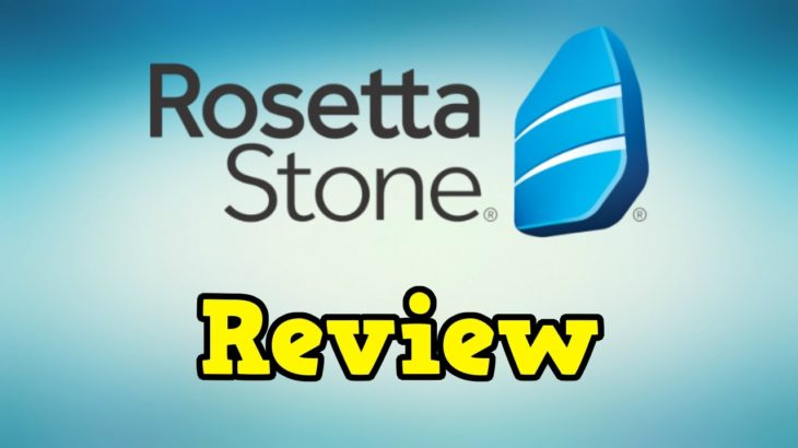 Rosetta Stone Review (in 5 minutes!)
