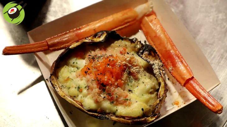 Snow Crab Gratin 2$ Japanese Street Food / クレープ スノークラブグラタン
