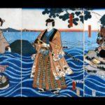 Tamasaburo Orochi (Kabuki set to Ukiyo-e)