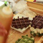 Waffle Tteok 3$ Japanese Street Food / クレープ ワッフルテクトク