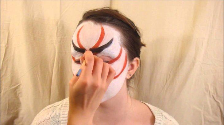 kabuki kumadori