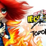Doll Figurine TODOROKI My Hero Academia | Japanese Anime | Monster High Repaint Ooak