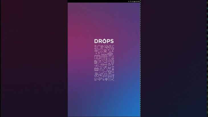 Drops: Learn more than 30 languages! Korean, Japanese, Chinese, Hebrew and more