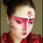 Geisha / Kabuki / Japanese Makeup for Halloween