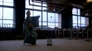 Japanese Kabuki Dance
