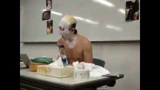 Japanese Kabuki – Putting On Facepaint – Part 3