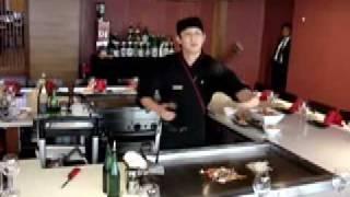 Kabuki Teppanyaki Auckland The Juggler