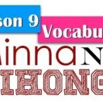 Learn Japanese | Minna No Nihongo Lesson 9 Vocabulary