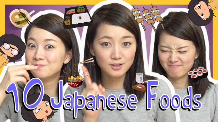 Learn the Top 10 Japanese Foods