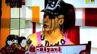 MIYAVI IN TAIWAN MTV, THIS IS THE JAPANESE KABUKI ROCK TOUR 2008