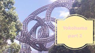 SIGHTSEEING in YOKOHAMA! + My first GACHA! | JAPAN Travel Series | Kawaii Kitty
