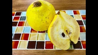 Stay healthy with quince fruits -Learn Japanese !