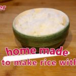 """#11 """"rice(with pot) ごはん"""" (beginner) ~Learn Japanese by cooking ~"""