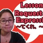 # 65 Learn Japanese – Request Expression (~てくれ、~しなさい、~てちょうだい)