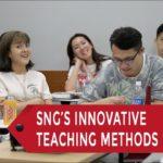 Inside Shinjuku Japanese Language Institute (SNG)