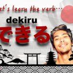 JAPANESE Verb DEKIRU #35 – Learning with Marcello Master Piggy