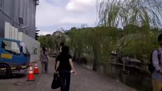 Kurashiki Japan – Walking Around Canal / Shopping Area – Famous Sightseeing Spot