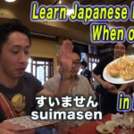 Learn Japanese Phrases -when ordering Gyoza and Beer in Izakaya-【#3】