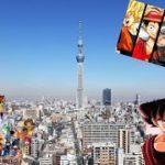 VLOG JAPAN : TOKYO SKYTREE TOWER & AKIHABARA (TOKYO ANIME CENTRE)