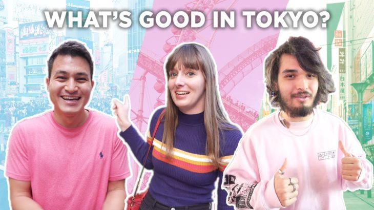 YouTubers Pick Their Favorite Tourist Spots in Tokyo, Japan [Ft. The Anime Man]