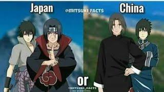 الأنمي الياباني vs  الأنمي صيني anime Japan vs anime china