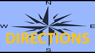 DIRECTIONS IN JAPANESE || JAPANESE DIRECTIONS | DIRECTION WORDS | JAPANESE VOCABULARY || mimashitaka