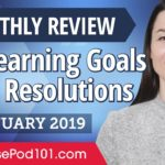 How to set achievable Japanese goals and resolutions? | Japanese January Review