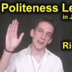 Introduction To Politeness Levels | Japanese Language