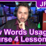 Japanese From Zero! Course 4 Lesson 2 NEW WORD USAGE