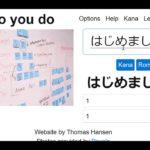 Japanese Language Learning Concept