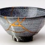 Kintsugi Artist Ms Aiko Fukumoto,  Authentic Japanese art of repairing broken pottery