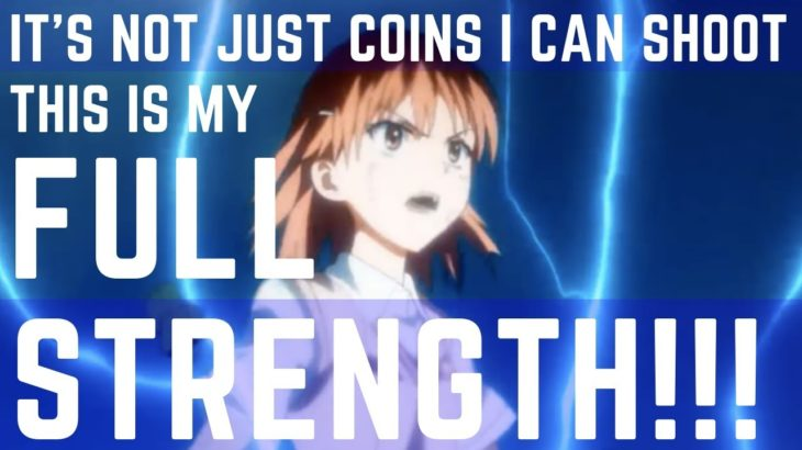 Learn Japanese with Anime – It's Not Just Coins I Can Shoot! This Is My Full Strength!!!