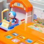 Toys anime doraemon tomica town minicar in japan トミカにぎやかサウンドタウンでドラえもんが走るよ