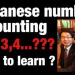 how to learn number counting in japanese-HINDI