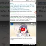 New Fruits Basket Anime's Teaser Promo Video Previews Japanese Voices for Yuki, Kyo, Shigure